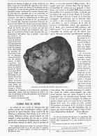 CARBON NOIR Du BRESIL   1895 - Minerals