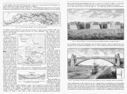 LE CANAL DE LA BALTIQUE à La MER DU NORD  1895 - Transportation