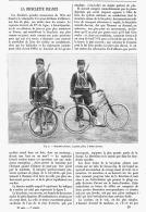 LA BICYCLETTE PLIANTE    1895 - Transports