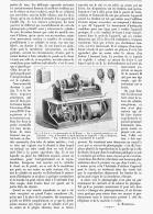 PHONOGRAPHE PORTATIF à MOUVEMENT D'HORLOGERIE    1895 - Musique & Instruments