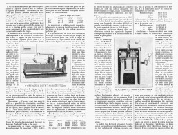 MESURE PRECISE DES LONGUEURS D'ONDES Experiences De M. A. MICHELSON  1895 - Sciences & Technique