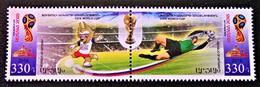 NAGORNO KARABAKH - FIFA 2018 - PAIRE NEUVE - YT 132/33 - MI 166/67 - Arménie