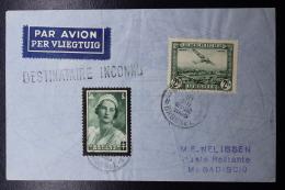 Belgium Airmail Cover Brussels ->Mogadiscio Mogadishu Somalia DESTINATAIRE INCONNU Front+back Rare Destination - Luchtpost