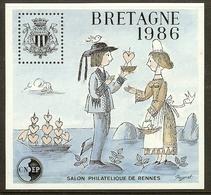 FRANCE Bloc CNEP N°7 (BRETAGNE 1986) - Cote 10.00 € - CNEP