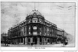 59 - LILLE - Hotel Des Postes - Lille