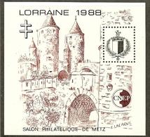 FRANCE Bloc CNEP N°9 (LORRAINE 1988) - Cote 25.00 € - CNEP
