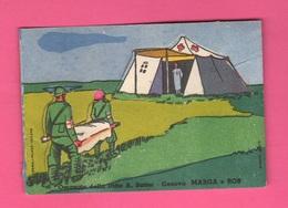 Figurina Militari Tenda Croce Rossa Infermieri Medico 1939 Figurina Ritagliata - Unclassified