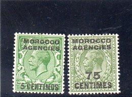 MAROC 1918-32 * - Bureaux Au Maroc / Tanger (...-1958)