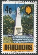 Barbados. 1970 Definitives. 4c Used. SG 402a - Barbados (1966-...)