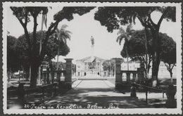 Praça Da República, Belém, Pará, C.1950s - Foto Cartão Postal - Belém