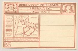 Nederland - 1926 - 10 Cent Cijfer, Briefkaart G213b, Landwinning Zuiderzee - Ongebruikt - Ganzsachen