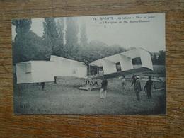 Aviation , Mise Au Point De L'aéroplane De M. Santos-dumont - ....-1914: Précurseurs