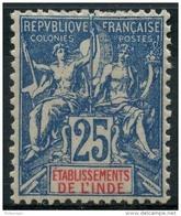 Inde (1900) N 16 * (charniere) Aminci - Unused Stamps