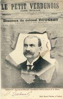 VERDUN -- LE  COLONEL  RUSSET, REPUBLICAIN, DEPUTE  DE  LA  MEUSE - Verdun