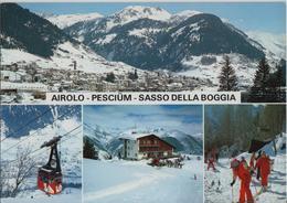 Airolo - Pesciüm - Sasso Della Boggia Im Winter En Hiver - Photo: Engelberger - TI Tessin