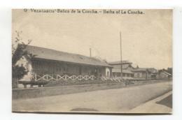 Vilagarcía De Arousa / Villagarcía - Baños De La Concha - Old Spain Postcard - Pontevedra