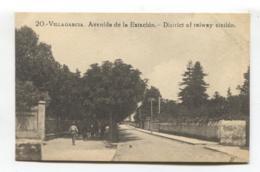 Vilagarcía De Arousa / Villagarcía - Avenida De La Estación - Old Spain Postcard - Pontevedra