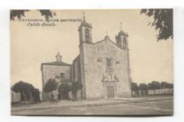 Vilagarcía De Arousa / Villagarcía - Iglesia Parroquial - Old Spain Church Postcard - Pontevedra