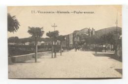 Vilagarcía De Arousa / Villagarcía - Alameda - Old Spain Postcard - Pontevedra