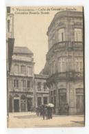 Vilagarcía De Arousa / Villagarcía - Calle De González Besada - Old Spain Postcard - Pontevedra