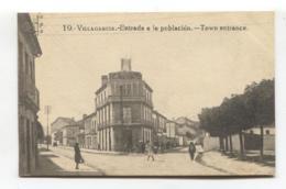 Vilagarcía De Arousa / Villagarcía - Entrada A La Población - Old Spain Postcard - Pontevedra