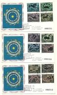 1970 - San Marino 794/05 Segni Dello Zodiaco - FDC - Astrologia