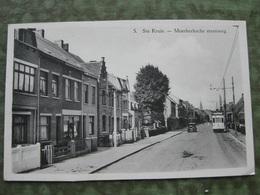 STE KRUIS - MOERKERKSCHE STEENWEG ( Tram - Scan Recto/verso ) - Brugge