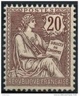 France (1902) N 126 * (charniere) - Ungebraucht