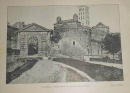 Photogravure. Angoulême. Ancienne Porte Saint Pierre. Fin XIXe. - Photography
