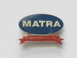Pin's Auto  - MATRA - Vainqueur 24 Heures Du MANS 1972 / 1974 - - Pin's