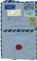 Lettre Avec Timbre Service, Pakistan Pour L'Algérie - Pakistan