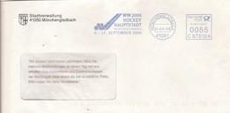EMA ALLEMAGNE DEUTSCHLAND HOCKEY SUR GAZON COUPE DU MONDE CUP POKAL WELTMEISTERSCHAFTEN Feldhockey 2006 MONCHENGLADBACH - Hockey (Veld)