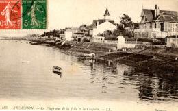 D33 - Arcachon -  La  Plage , Vue De La Jetée De La Chapelle :   Achat Immédiat - Arcachon