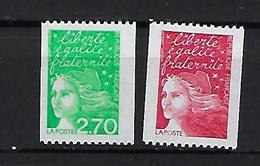"""FR YT 3083 3100 """" Mariannes De Luquet Roulette """" 1997 Neuf** - 1997-04 Marianne Van De 14de Juli"""