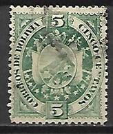 BOLIVIE   -   1894.  Y&T N° 41 Oblitéré - Bolivia