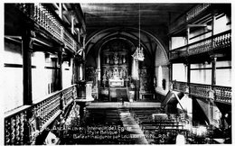 ASCAIN - Intérieur De L' Eglise - RD 15 - Vierge - Tbe - Ascain