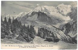 74 Saint Gervais Les Bains, Tramway Du Mont Blanc.  Aiguilles Du Gouter Et De Bionnassay (A5p23) - Saint-Gervais-les-Bains