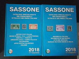 Italia 2018 SASSONE Vol.1/2 Buono Stato - Italia