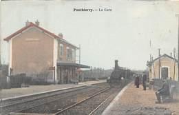 PONTHIERRY - La Gare - Train - Autres Communes