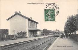 PONTHIERRY -  Quai De La Gare - France