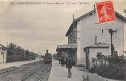 PONTHIERRY-PRINGY - La Gare - Autres Communes