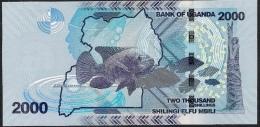 UGANDA OUGANDA  P50 2000 SHILLINGS 2015  UNC. - Ouganda