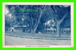 BATAVIA, INDE - TUIN VOOR HET HOTEL DES INDES - ANIMATED -  G. KOLFF & CO - - Inde