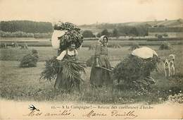 Agriculture  A La Campagne Lot De 8 Cartes - Cartoline
