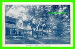 BATAVIA, INDE - DÉPENDANCE, HOTEL DES INDES - ANIMATED -  G. KOLFF & CO - - Inde