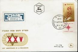 Israel 1958 - Makkabiade - Hammerwerfen - MiNr 159 FDC - Briefmarken