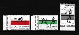 TIMBRE N°165/67 NEUF** - DEVELOPPEMENT DE L'ATHLETISME - Somalie (1960-...)