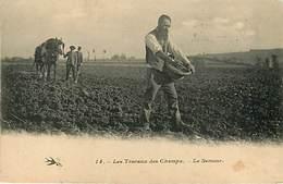 Agriculture  Travaux Des Champs Lot De 9 Cartes - Cartoline