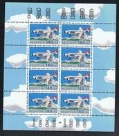 1988 Schöner Kleinbogen Siehe Scan Michel 1369 Postfrisch Xx - Schweiz