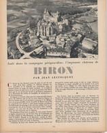 La Revue Du Touring Club 1954 Juin, ARCACHON, BIRON Périgord, L'Orb Et Le Jaur, Nautisme,  Le Sommaire Est Scanné... - Auto/Moto